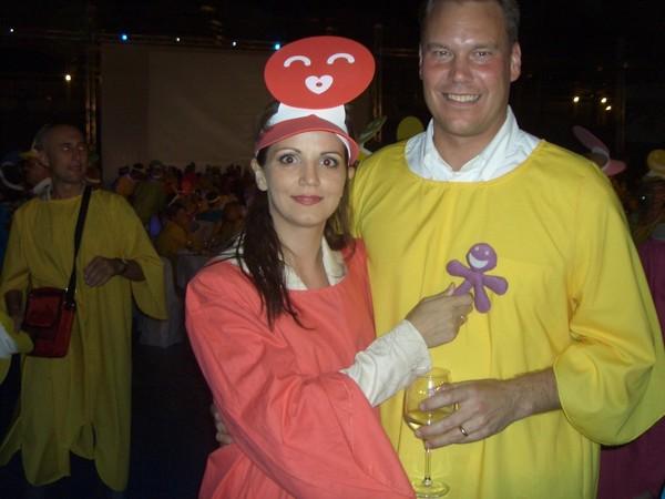 Катя с Магнусом Бренгстромом - генеральным директором Орифлейм