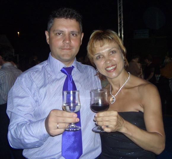 С Ольгой Пивенштейн на Банкете