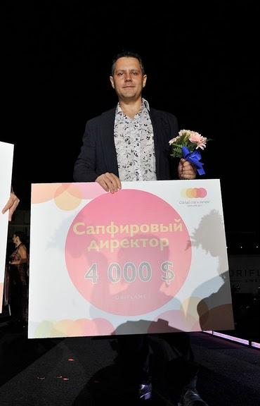 Константин Харченко - новый сапфировый директор Орифлейм