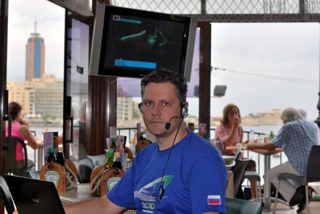Константин Харченко - обучает консультантов Орифлейм Прямо с Мальты
