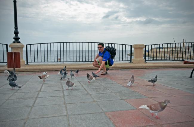 Константин Харченко - на набережной Мальты