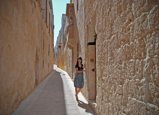 Екатерина Исаева на Мальте на конференции Ориялейм