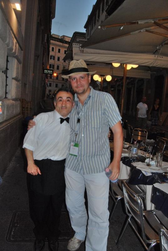 Мой Итальянский друг - официант Роберто