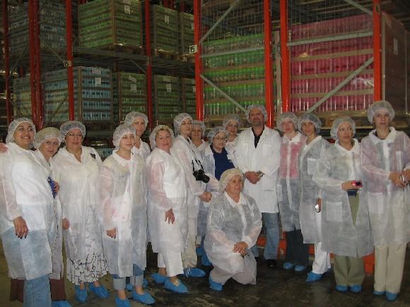 Завод Орифлэйм в Швеции