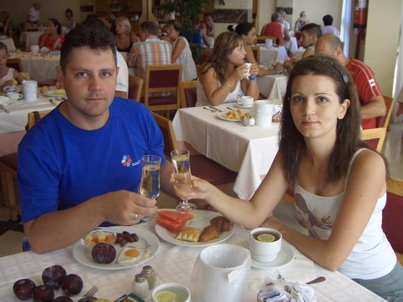 Завтрак Орифлейм в отеле на Канарах