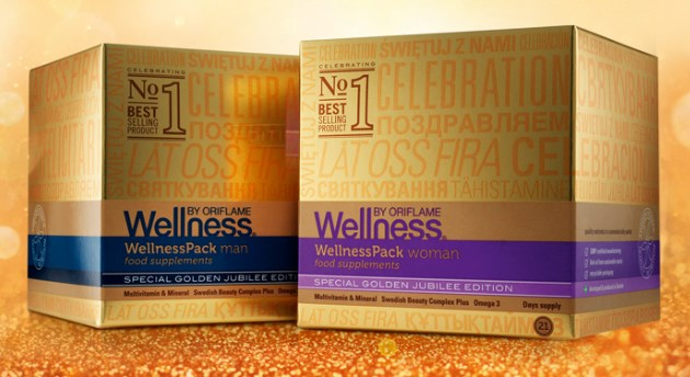 Wellness Pack Gold Oriflame