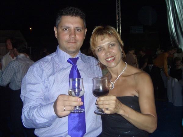Константин Харченко с Ольгой Пивинштейн на Канарах