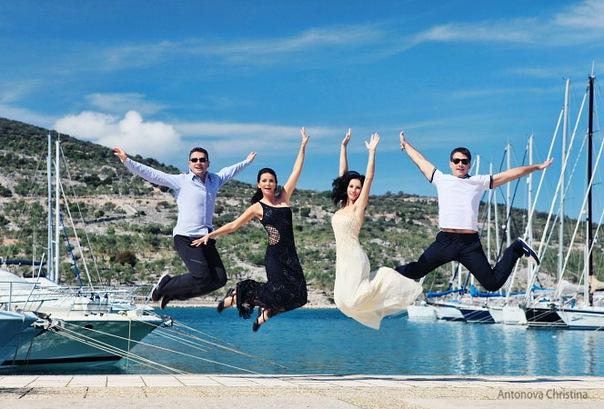 Хорватия. Свадьба Алекса Айвенго и Оксаны Ренард