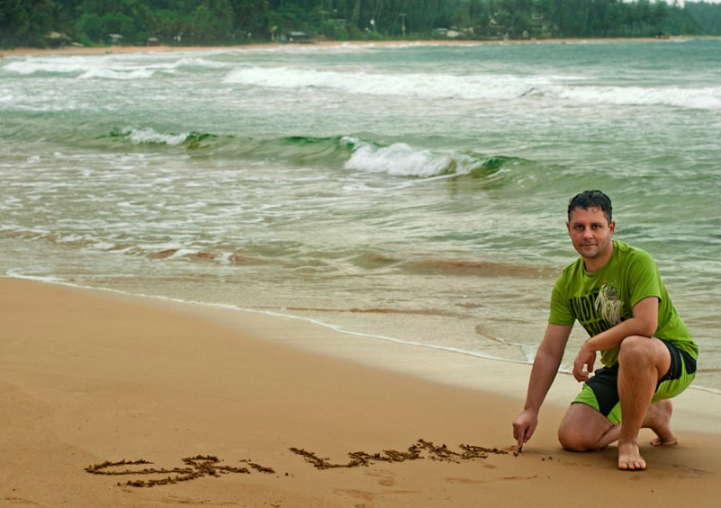 До свидания Мирисса и Шри-Ланка