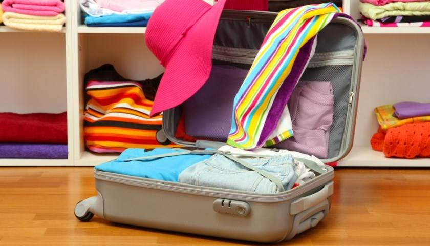 Видео — как собрать чемодан и уложить вещи на конференцию Орифлэйм