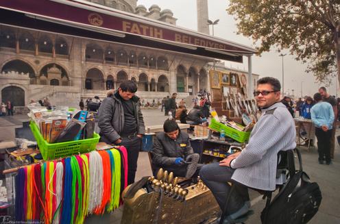 Воровство в Стамбуле