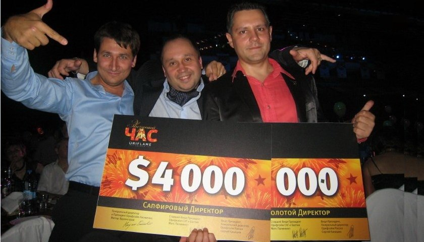 Моя история успеха в Орифлэйм — Константин Харченко