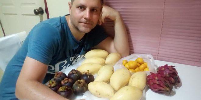 Как делать фруктовый салат: фрукты Тайланда