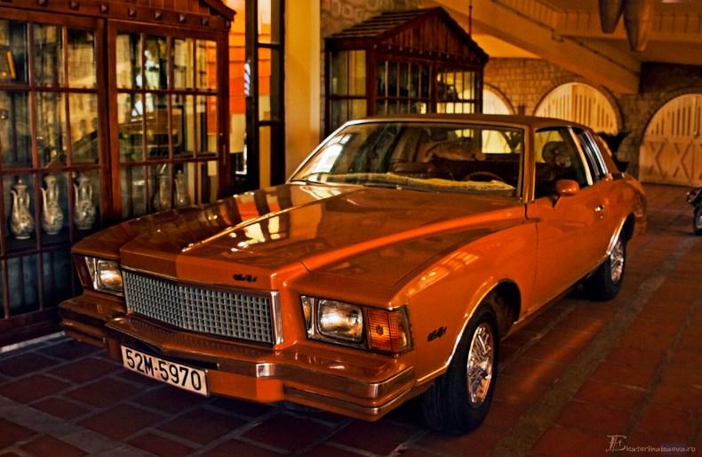 Saphir Dalat Hotel retro avto