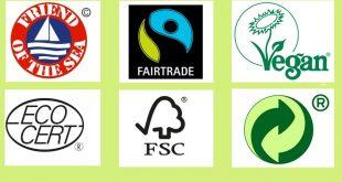 ЭКО-символы на продукции Орифлейм
