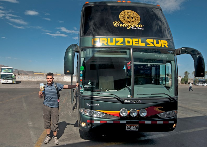 Автобус в Перу
