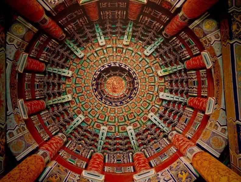Hram Neba v Pekine Императорский Небесный Свод