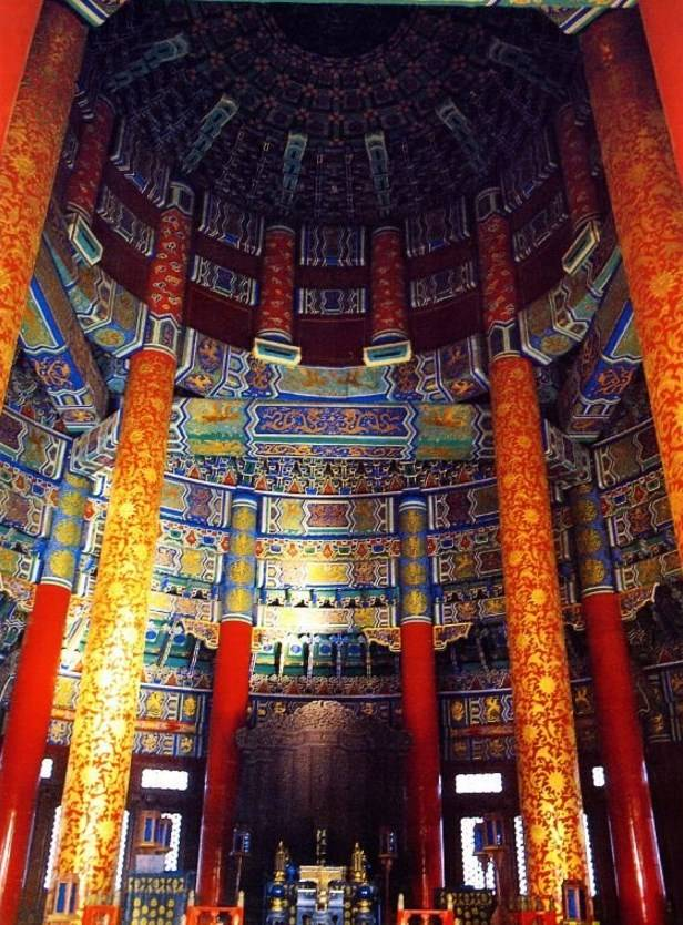 Hram Neba v Pekine svodi