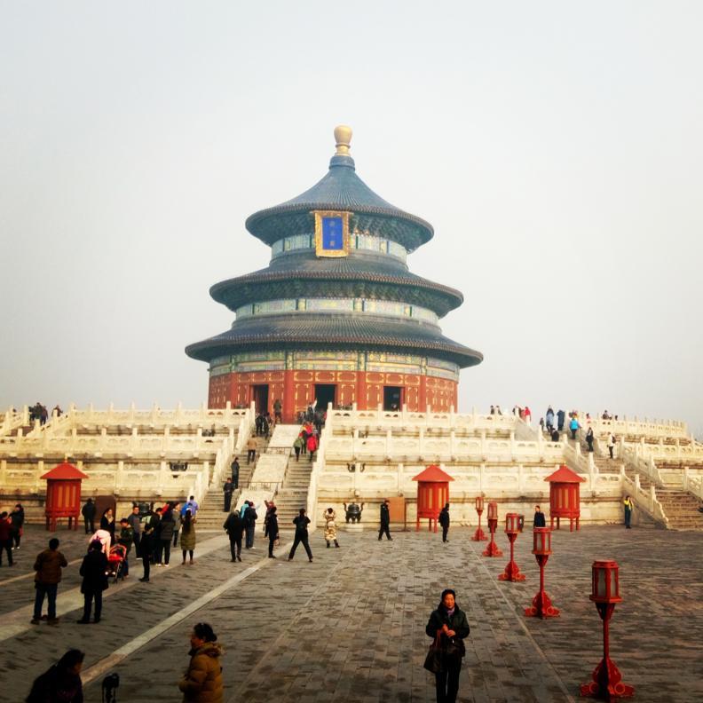 Hram Neba Pekin Kitai