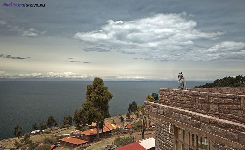 Озеро Титикака находится в Перу