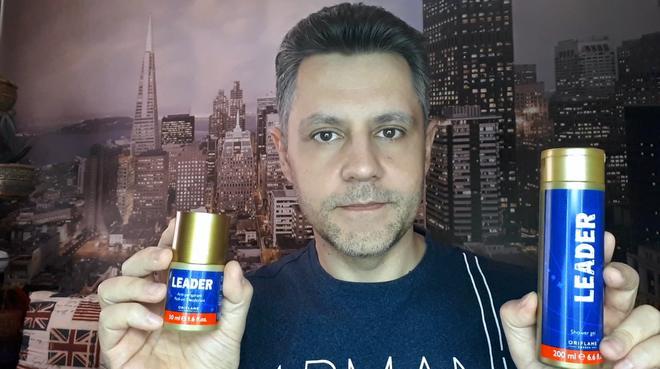Шариковый дезодорант - антиперспирант Leader