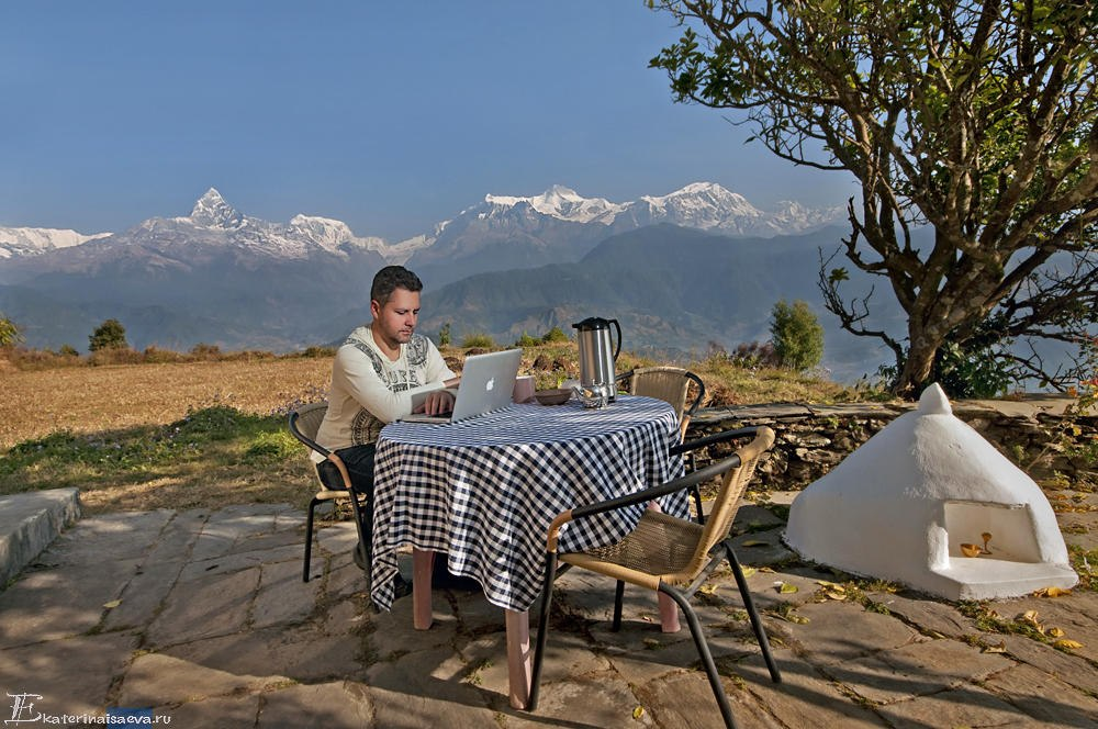 Константин Харченко в Непале Саранкот