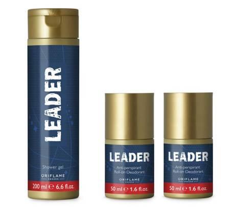 Leader Гель и Дезодорант