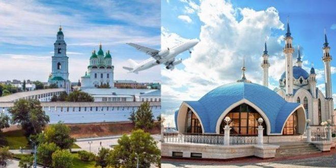 Дешевые авиабилеты Астрахань - Казань