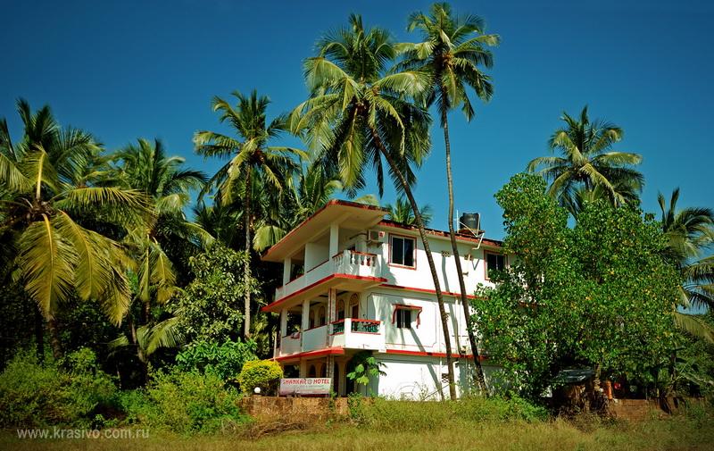 Наш отель в Мандреме