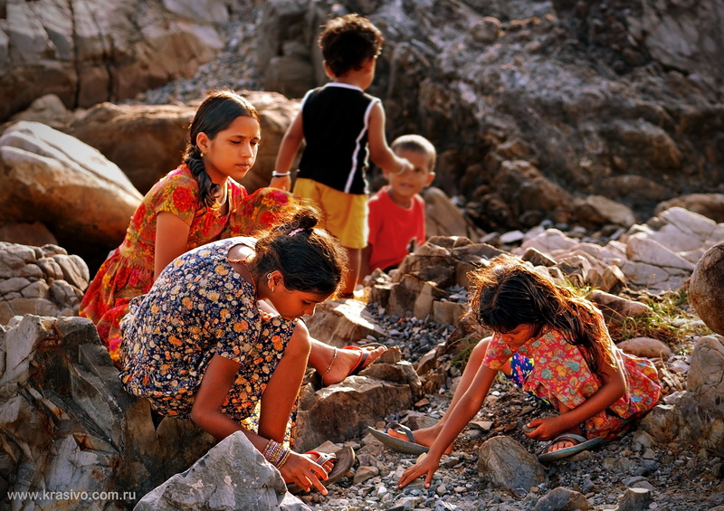 Дети в Арамболе