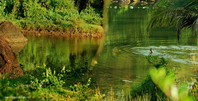 Озеро в Мандреме