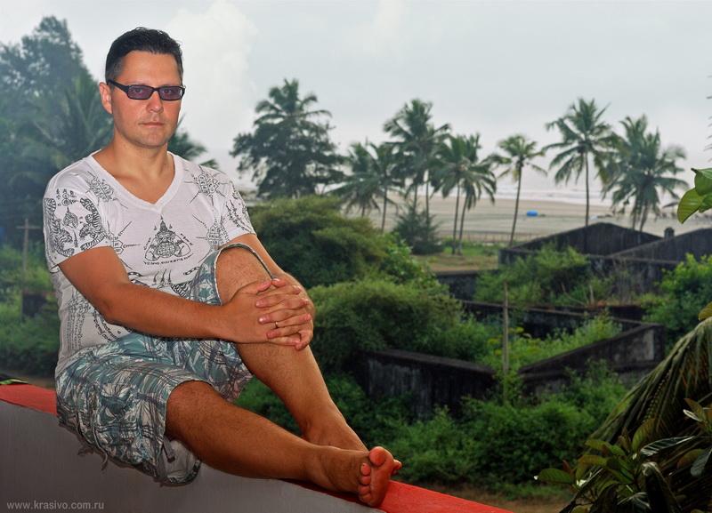 Константин Харченко в Мандреме Индия