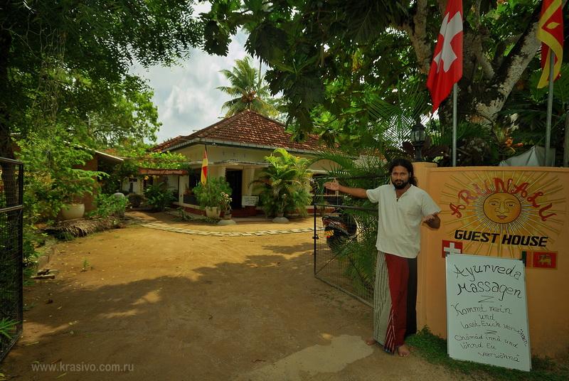 Гест хаус на Шри-Ланке в Мириссе