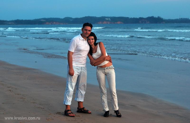 Константин Харченко и Екатерина Исаева на Шри-Ланке